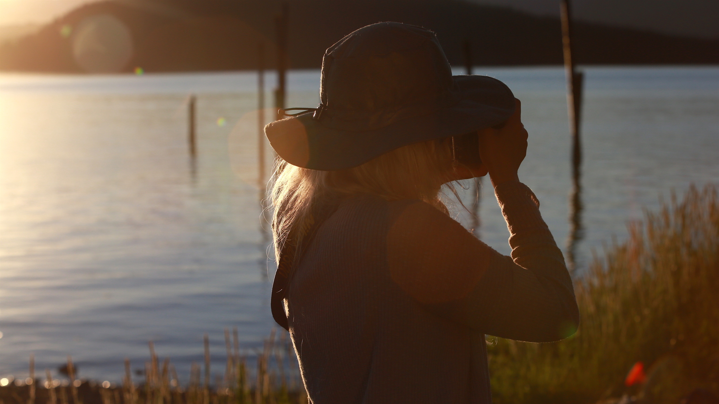 Kazumi Eckenstein at sunset