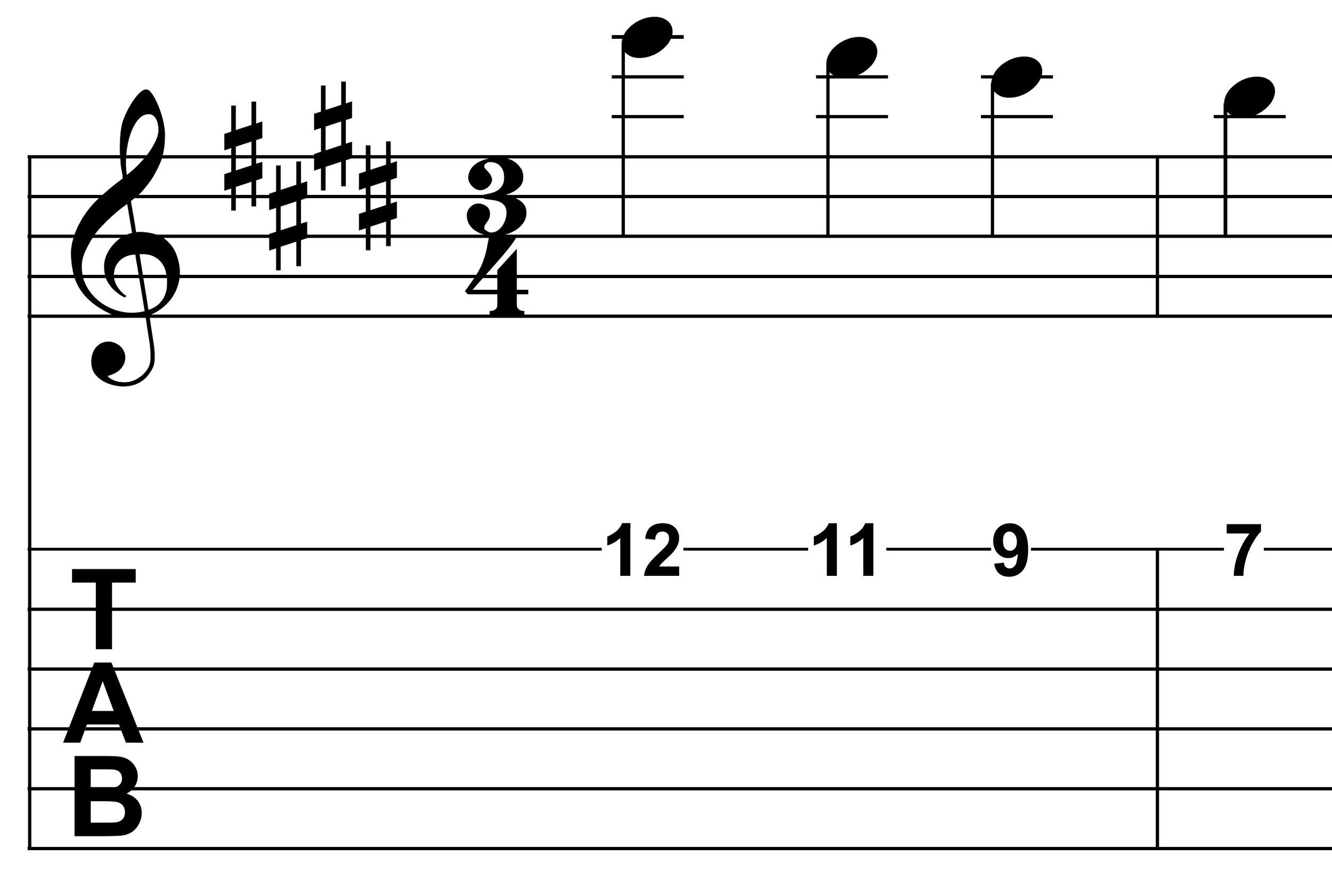 Lagrima Example 2 melody.jpg