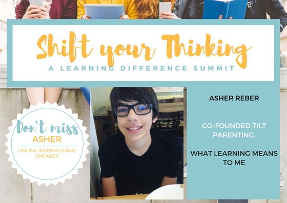 - Ash Basden is one of the co-founders of Tilt Parenting. He offers her insights and shares his experiences when it comes to her learning difference and what this means to him. His talk will be part of the Video Package for October 2017 along with the Live Event speakers. www.shiftyourthinkingld.com