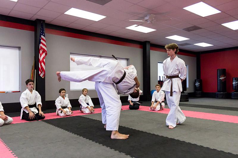 American Karate dojo and training facility