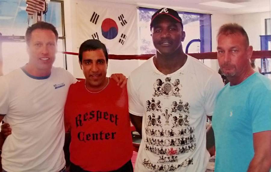 Rich Norton and Ray with Ivandor Holyfield