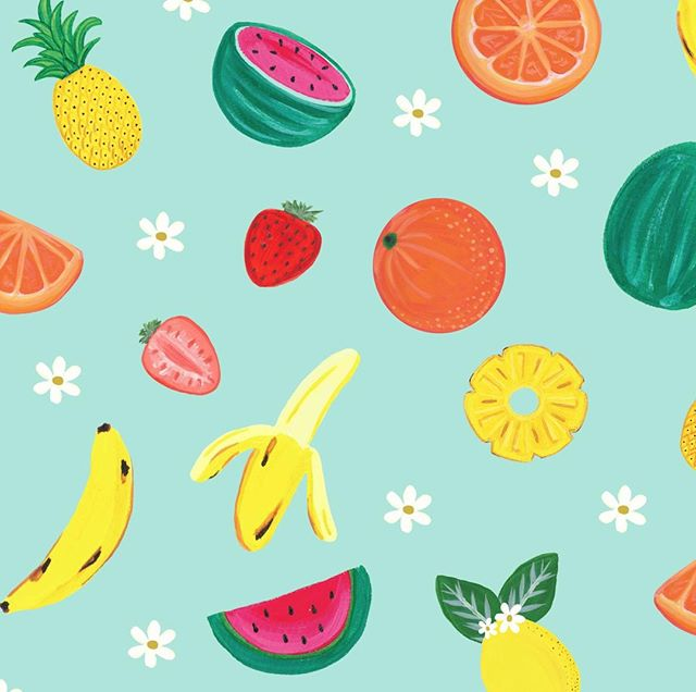 Fruity illustration from one of our Spring notebooks! 🍊 #spring #fruits #notebook ⠀ ------------⠀ .⠀ .⠀ .⠀ #paigeandwillow #stationery #madeincanada #madewithlove #love #pretty #fun #buylocal #canada #montreal #mtl