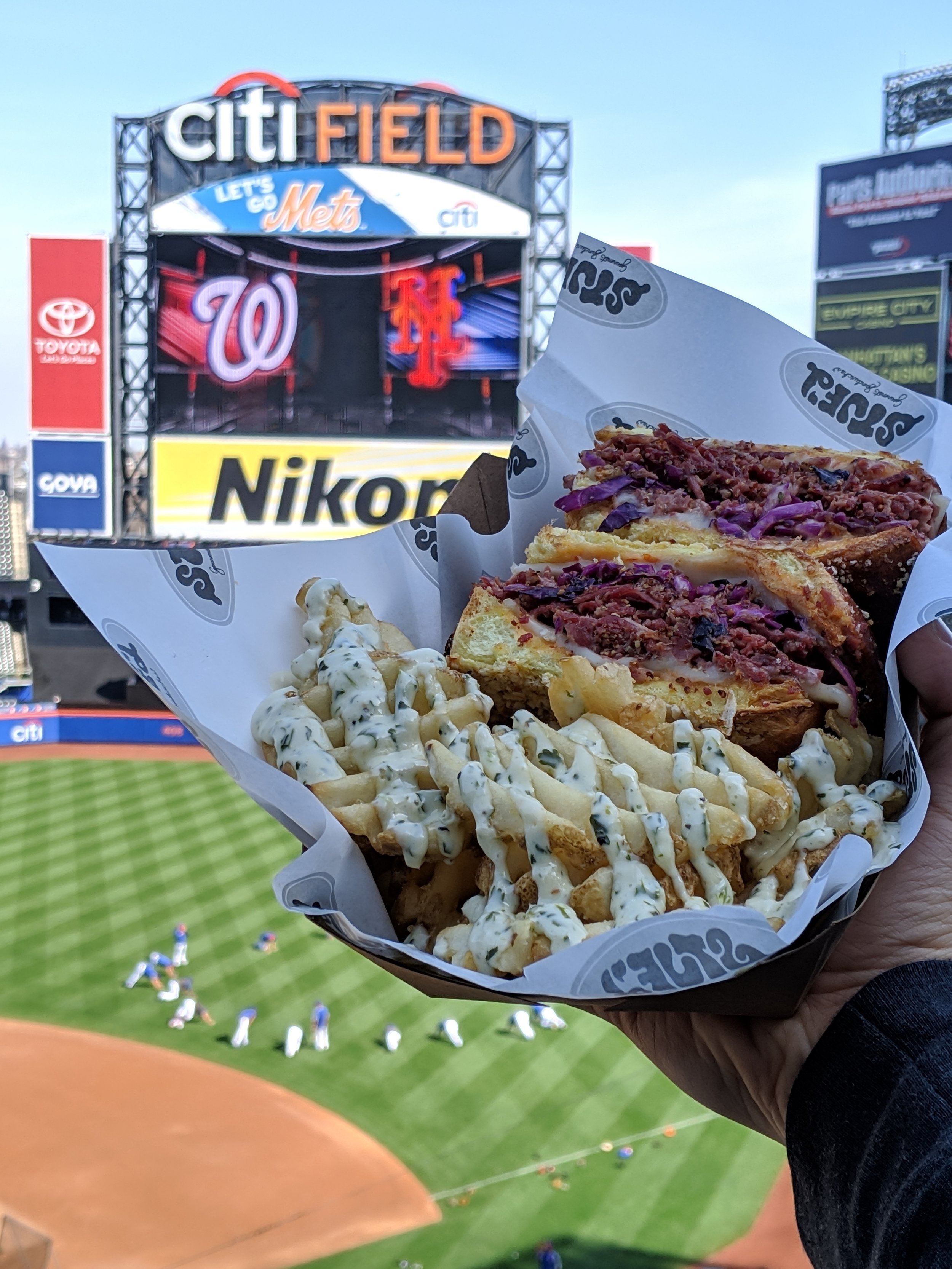 Come find us in the Jim Beam Promenade level suite between sections 416 and 409! EAT OUR REUBEN, EXCLUSIVE TO THE STADIUM :D