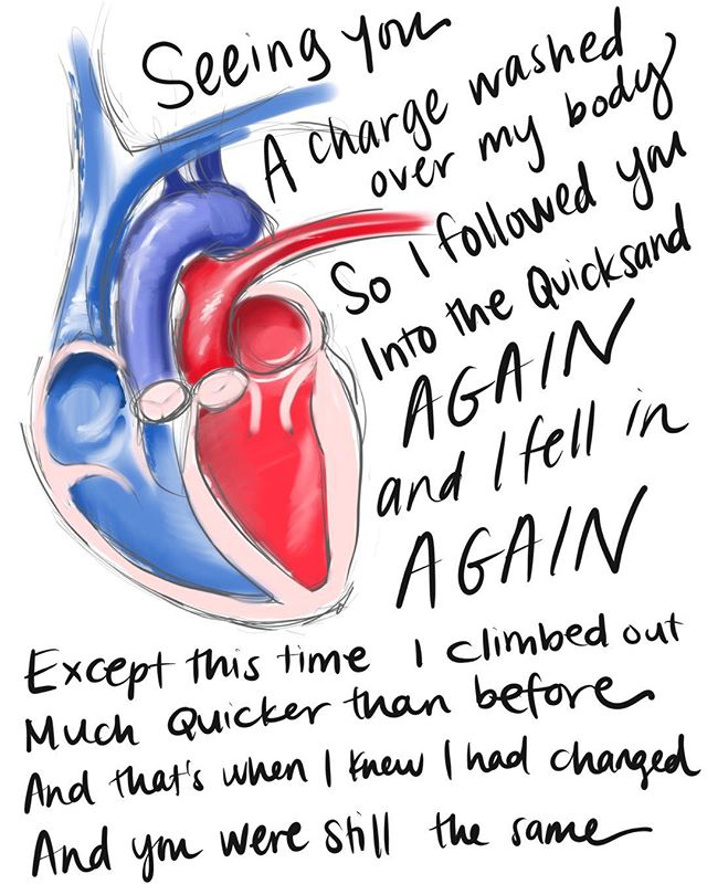 d - Transposition of the Great Arteries #love #poem #growth #change #💔