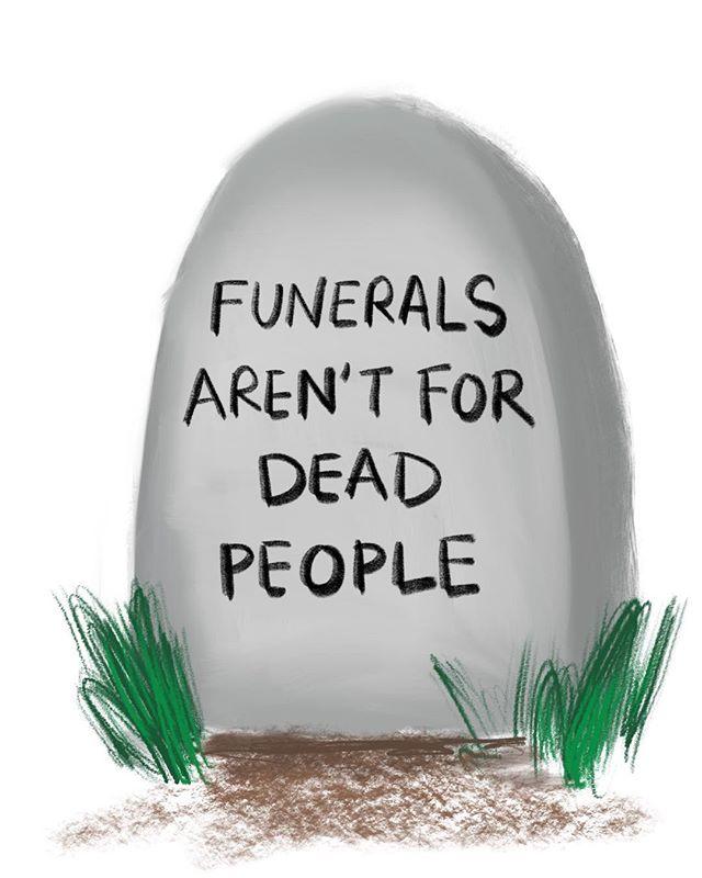#facts #death #grieving #art #illustration #artistwithwords