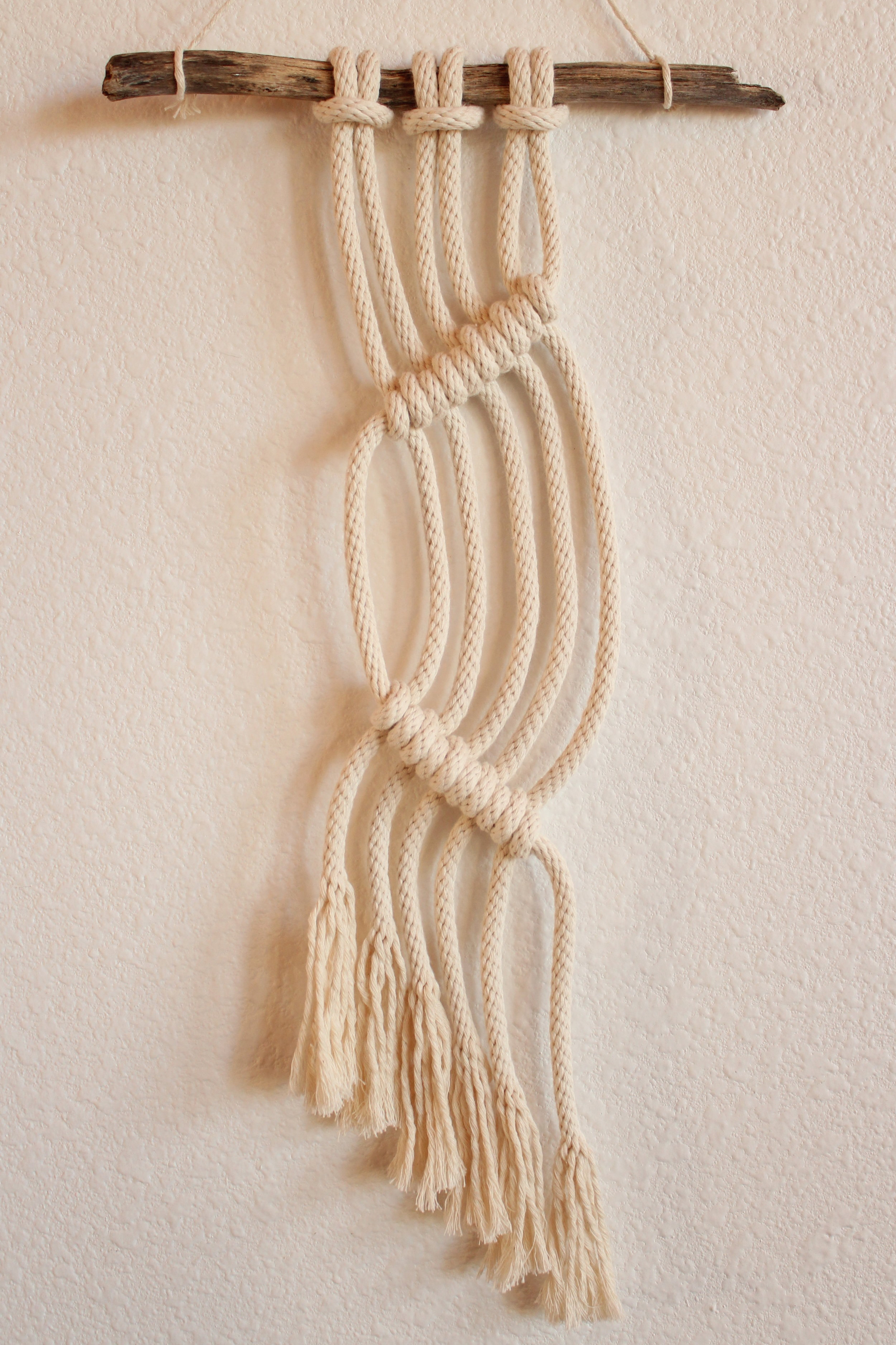 THIRSTY GROUND MACRAME WALL HANGING