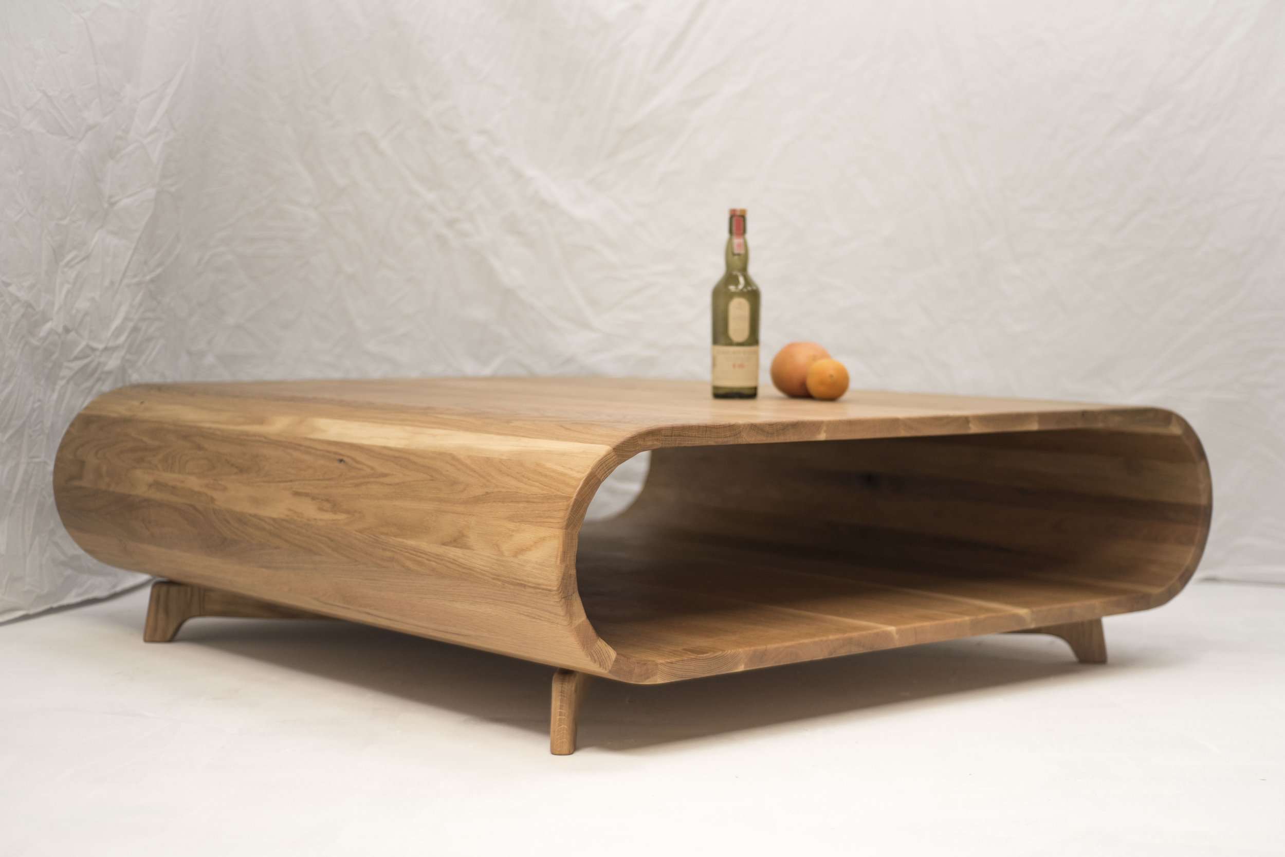 american oak coffee table