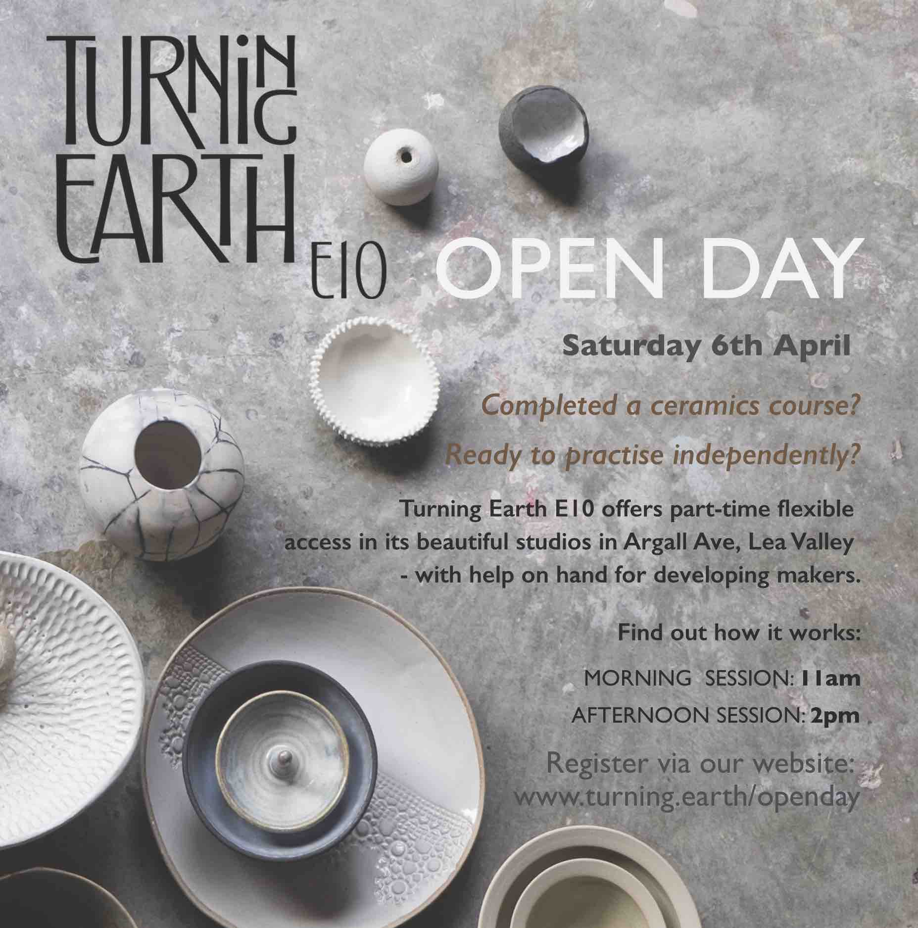 Turning Earth Ceramics Open Day