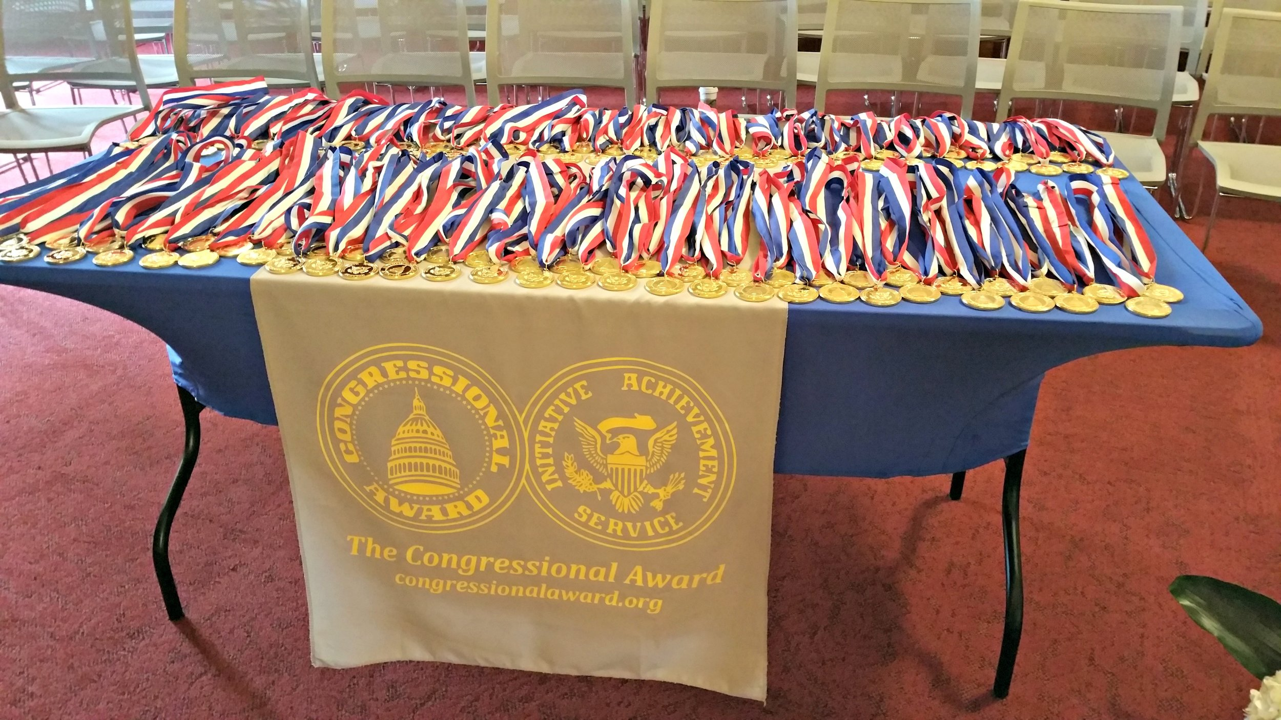 2016 Congressional Award Ceremony, Cannon Caucus Room on Capitol Hill, June 16, 2016