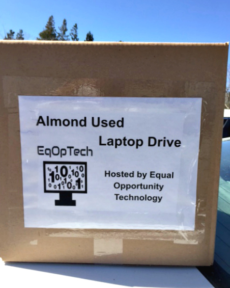 Almond Used Laptop Drive by EqOpTech