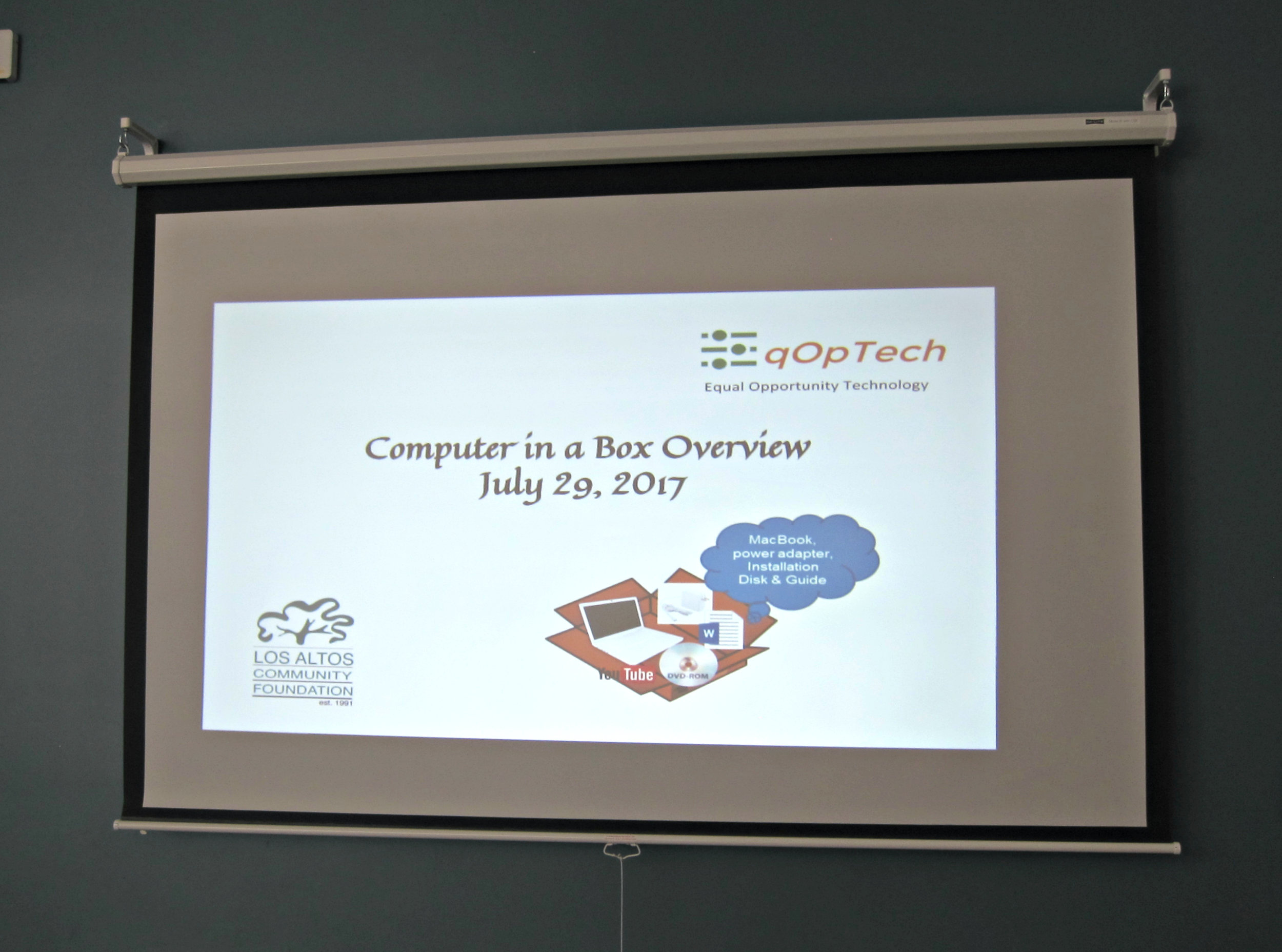 Computer in a Box Laptop Refurbishing Workshop + Guest Speaker from LinkedIn