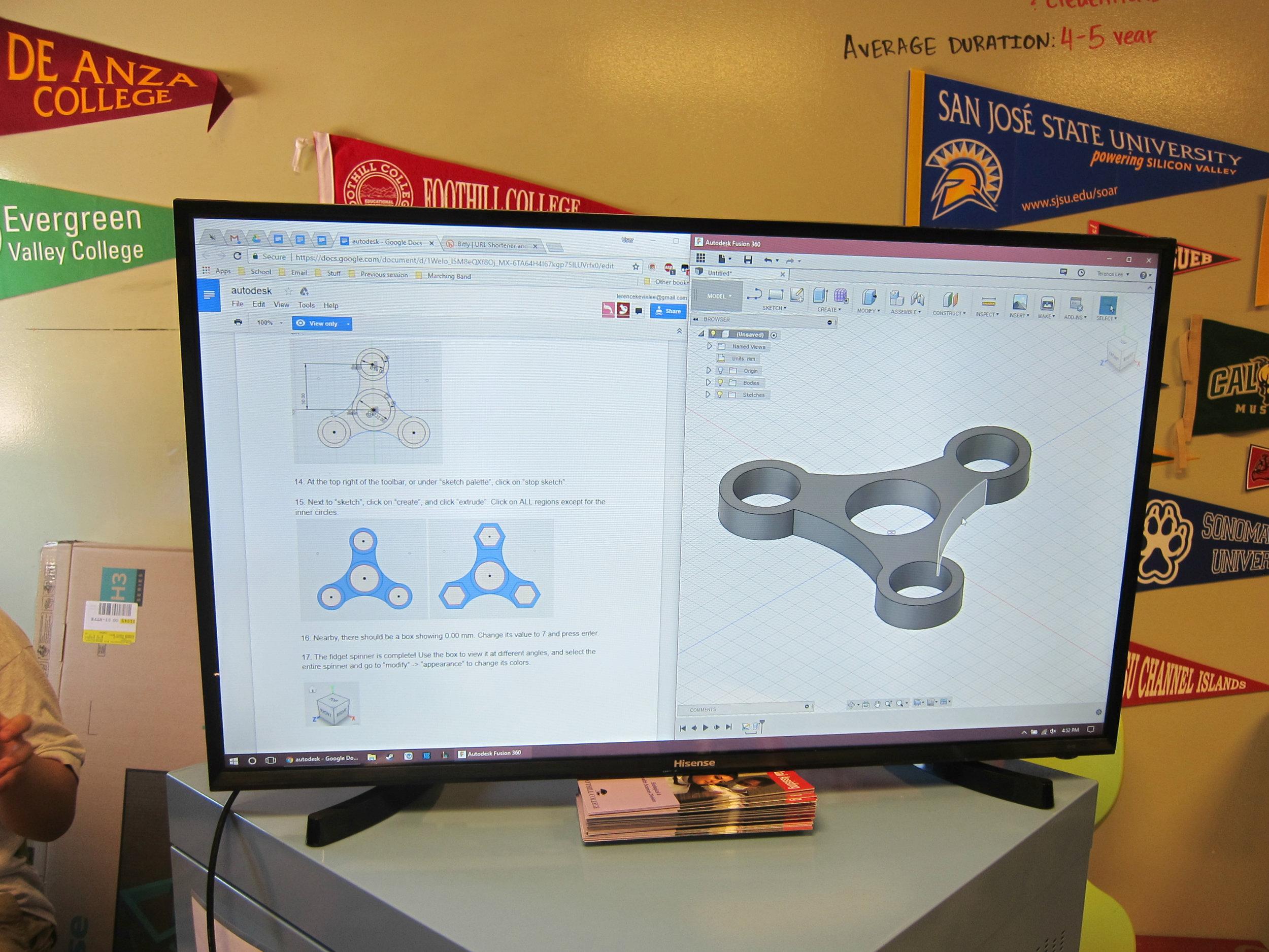 Autodesk Fusion 360 demo