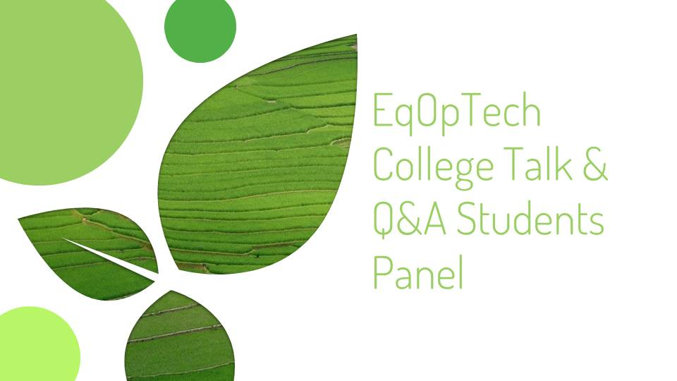 Featuring Kalven Goreal' Q&A Students Panel, Terence Lee and Kevin Gao