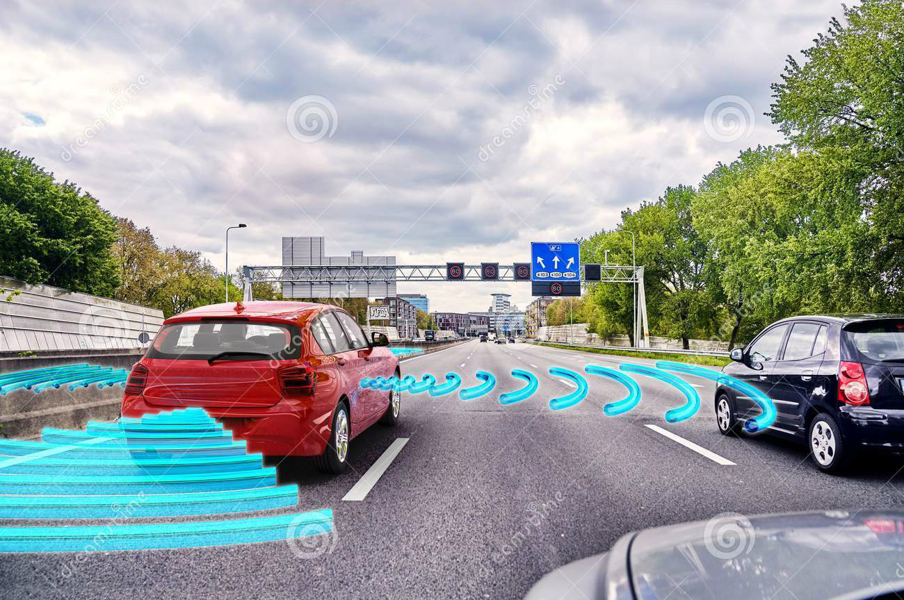 Concept of Self-driving car - Credit: Dreamstime