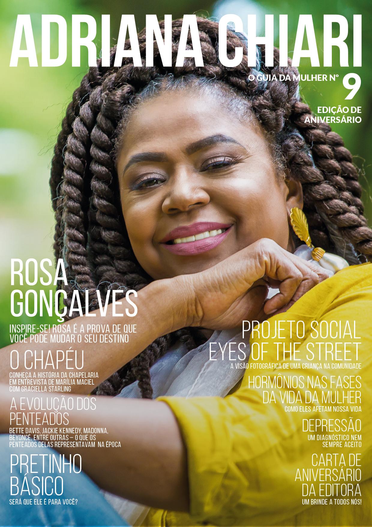 9ª Edição Adriana Chiari Magazine - Agosto - 2017