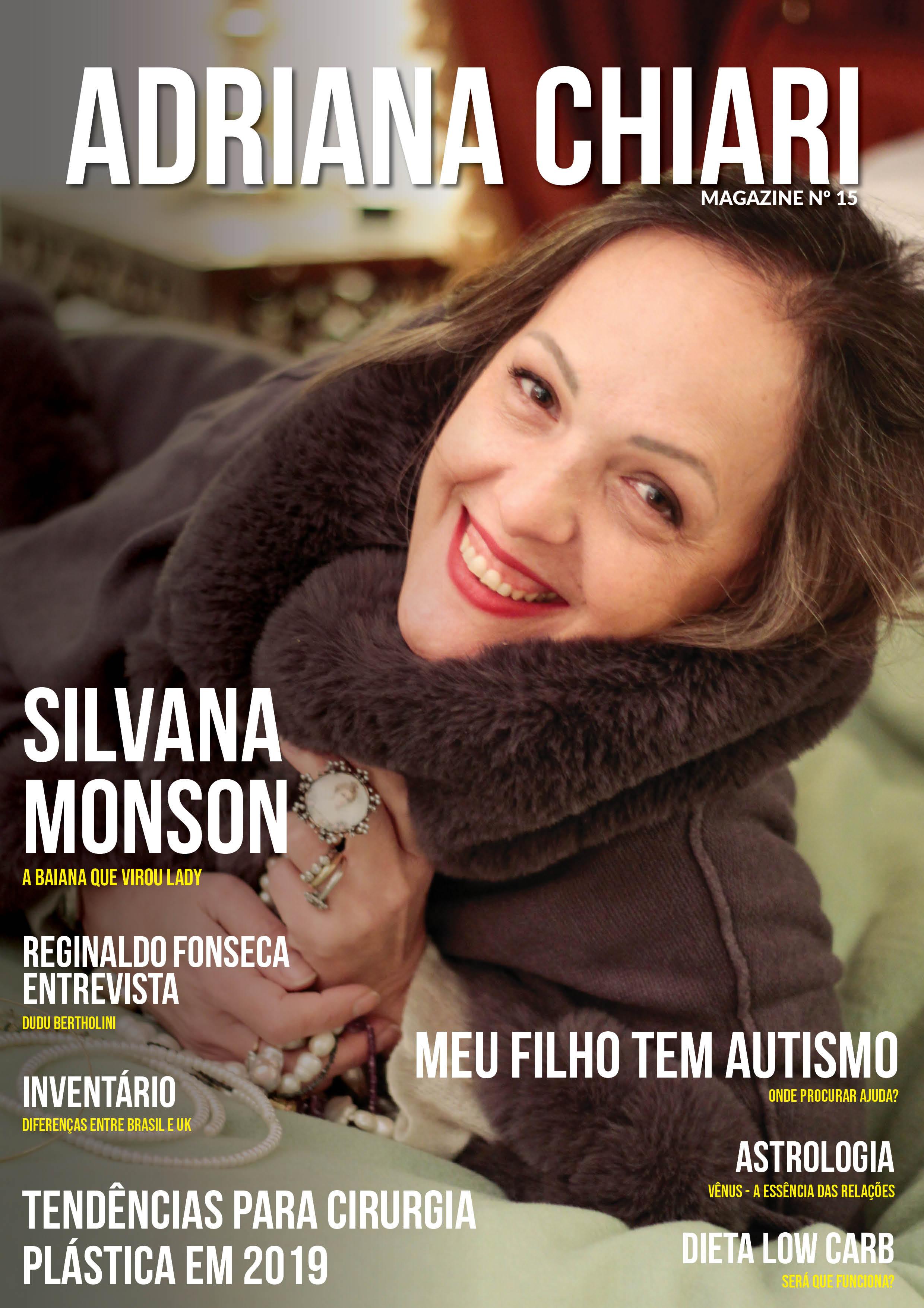 15ª Edição Adriana Chiari Magazine - Março - 2019