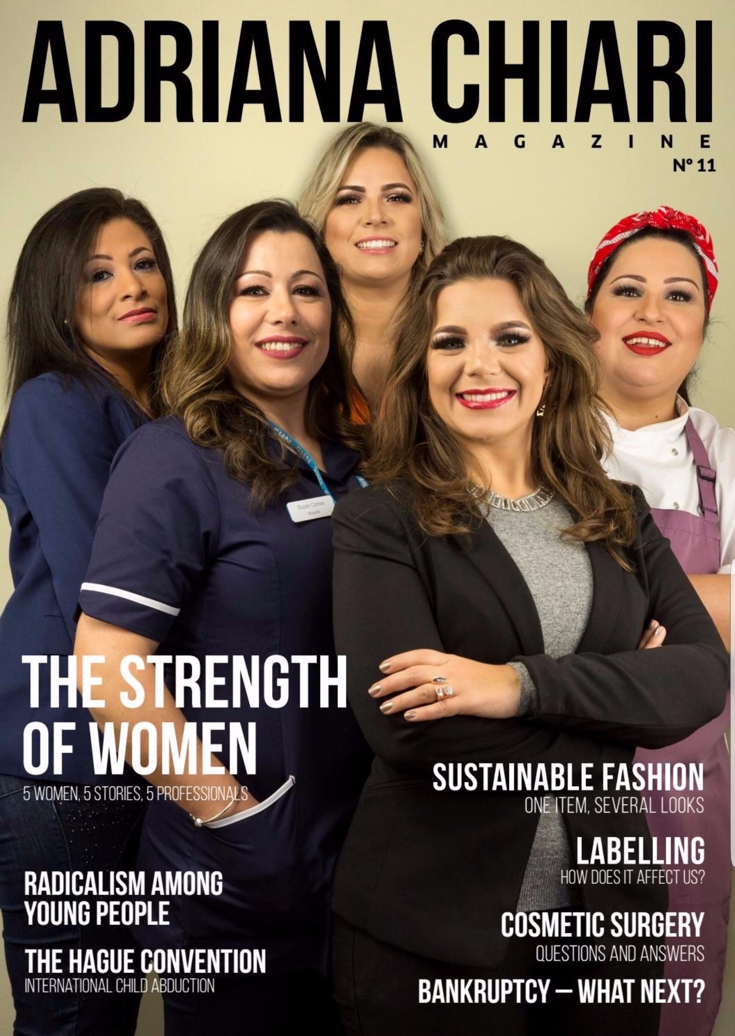 11ª Edition Adriana Chiari Magazine - March - 2018