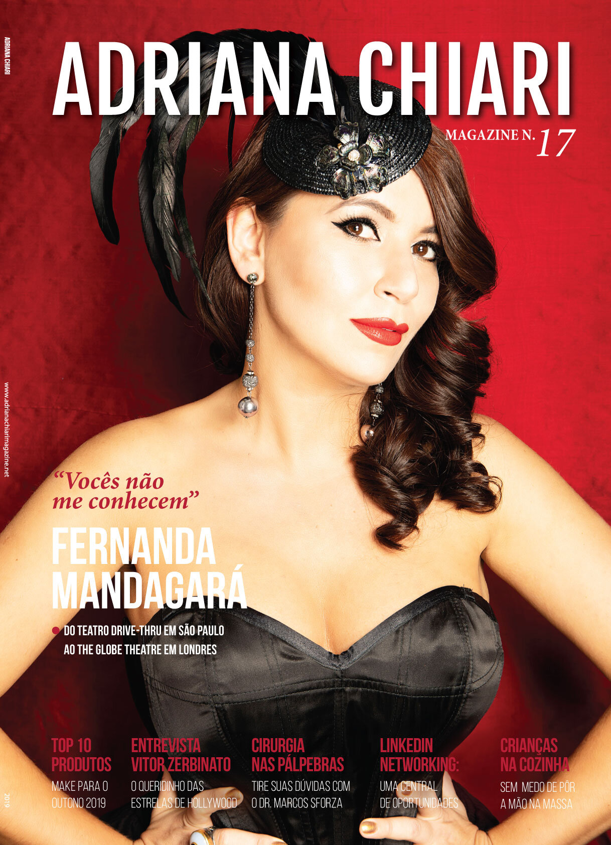 17ª Edição Adriana Chiari Magazine - Setembro - 2019