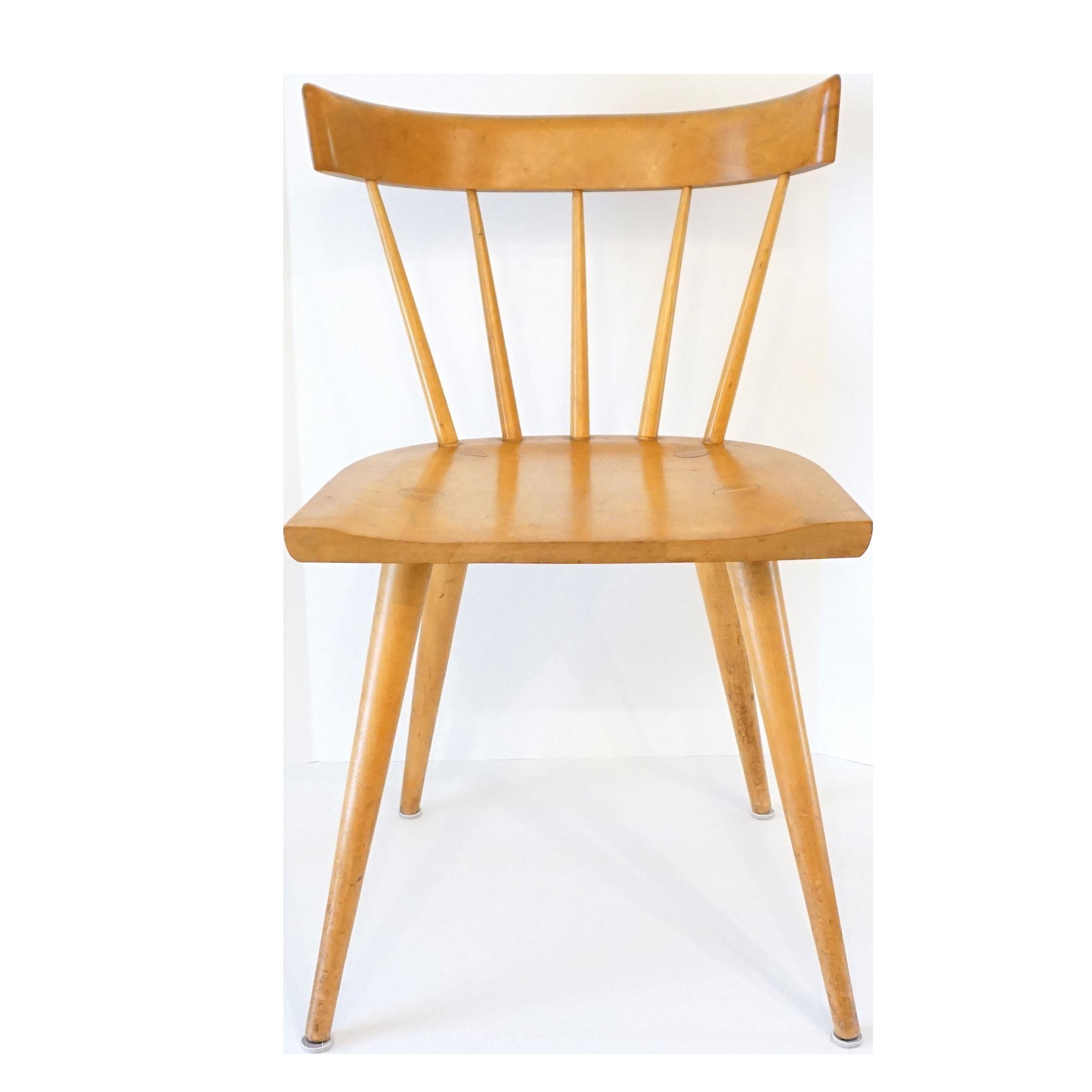 Model 1531 Spindle Back Chair By Paul Mccobb Audra Kiewiet De Jonge Art Interiors