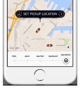 Overwatch In Uber App (Photo: Uber)