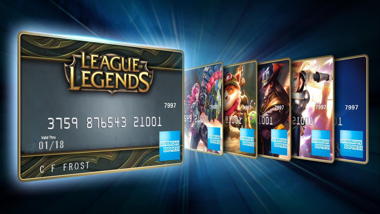 American Express and League of Legends (Photo: Riot)