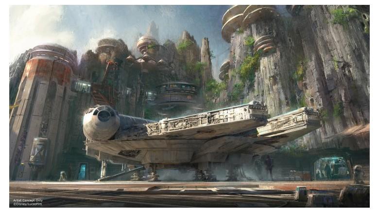 Disney's Upcoming Star Wars Theme Park (Photo: Disney)