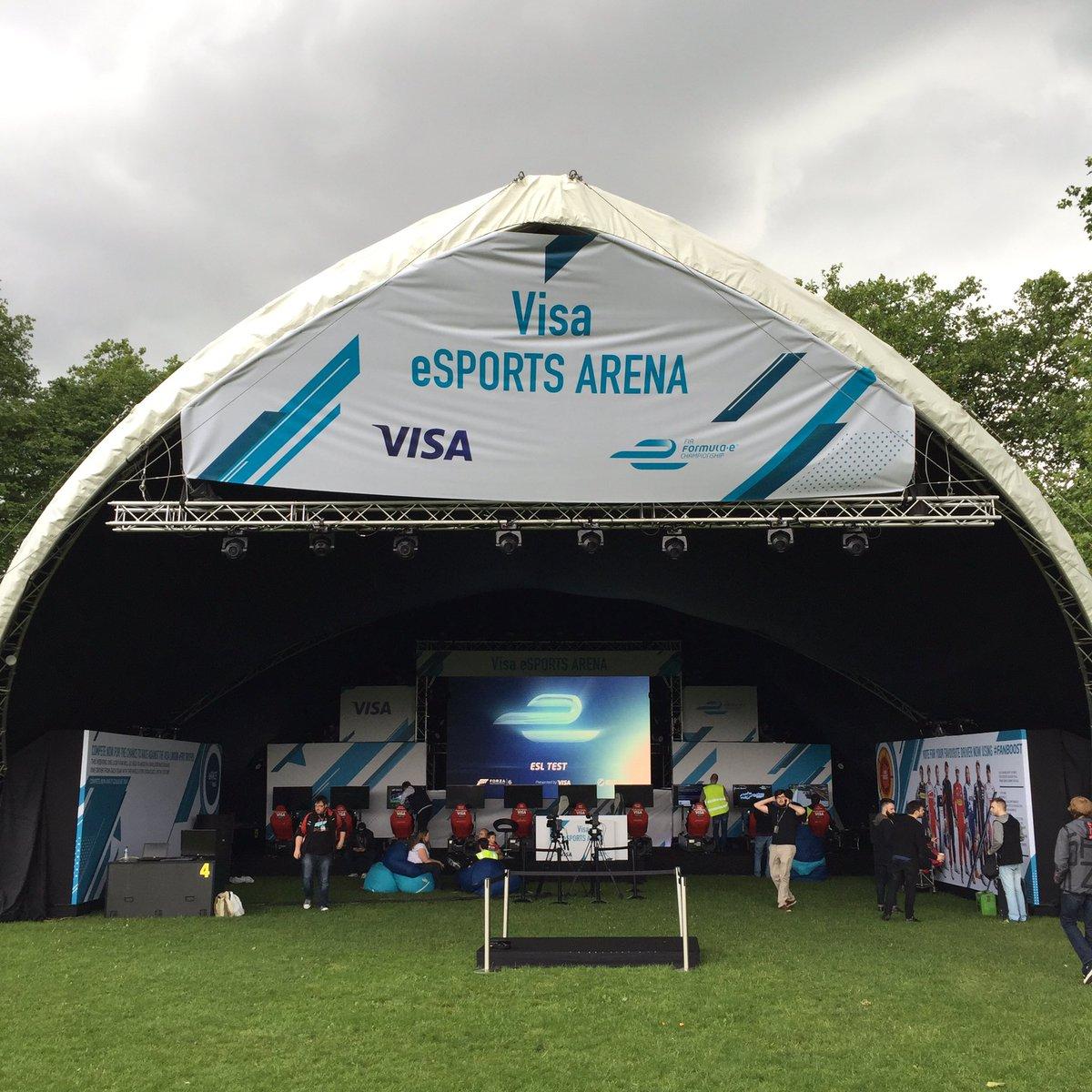 Visa London ePrix eSports Event (Photo: Formula E)