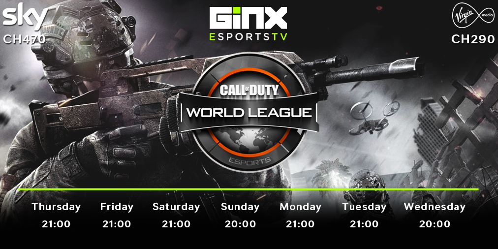 Call of Duty World League on Ginx eSports TV (Photo: Ginx)