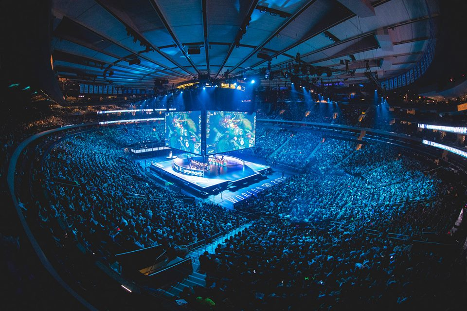 League of Legends World Championship at Madison Square Garden (Photo: Riot)
