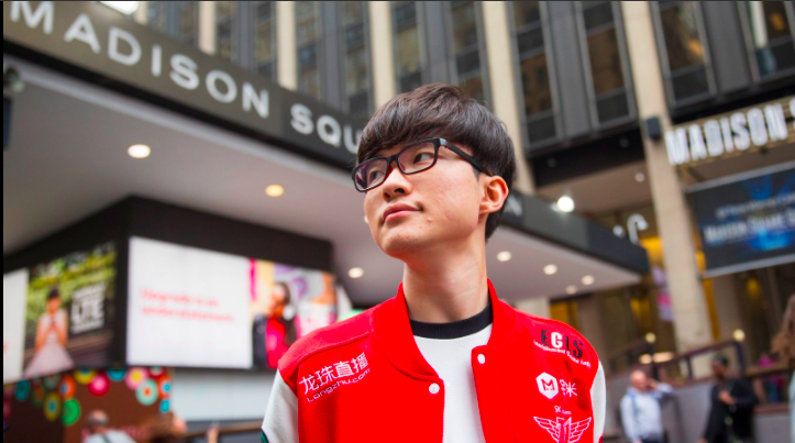 God AKA Faker of SK Telecom (Photo: Riot)