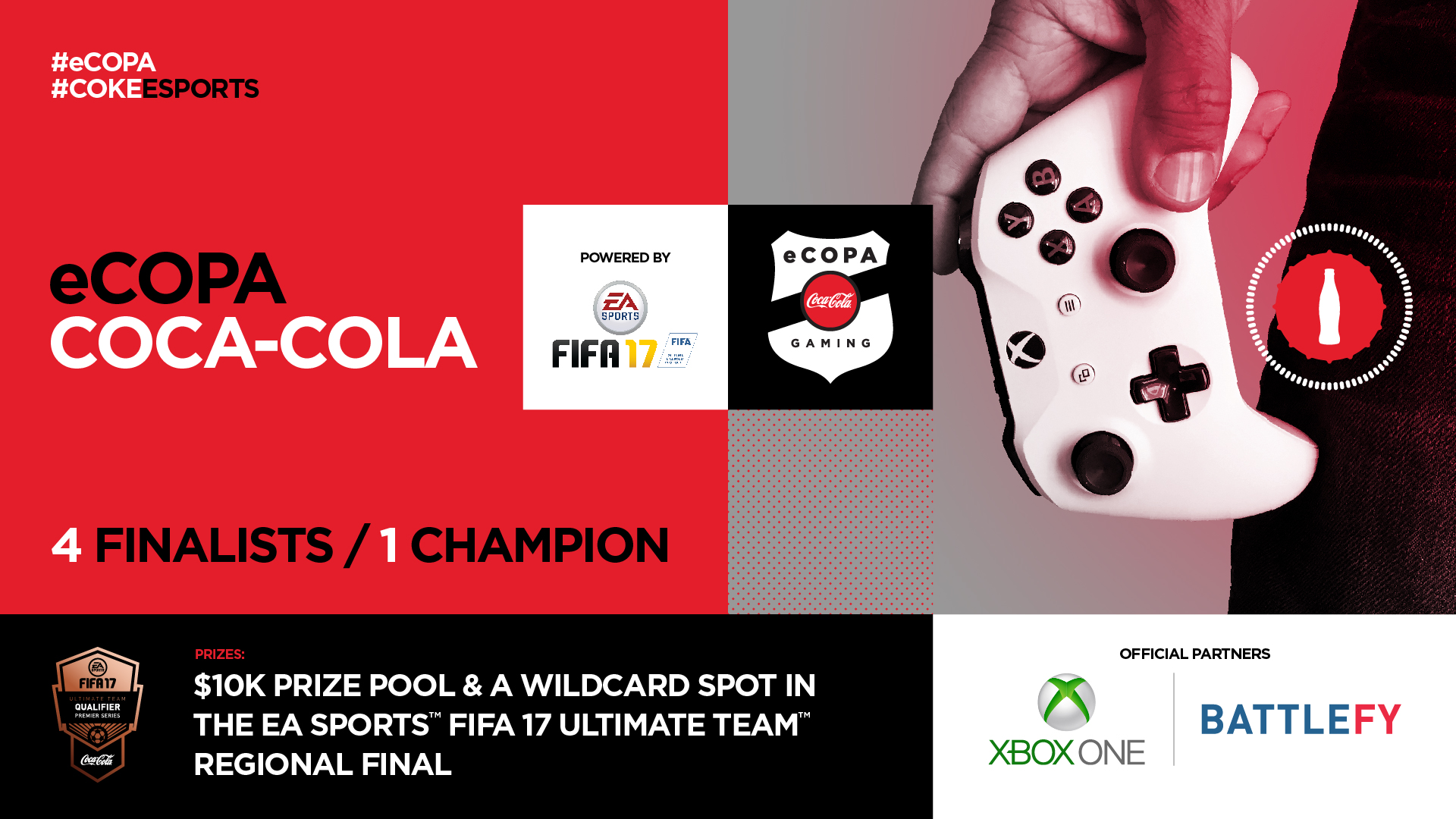 TNL eSports Brand Tracker 044: Coca-Cola (Photo: Battlefy)
