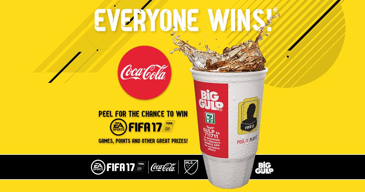 Coca-Cola and EA Sports FIFA 17 Promotion (Photo: Coca-Cola)