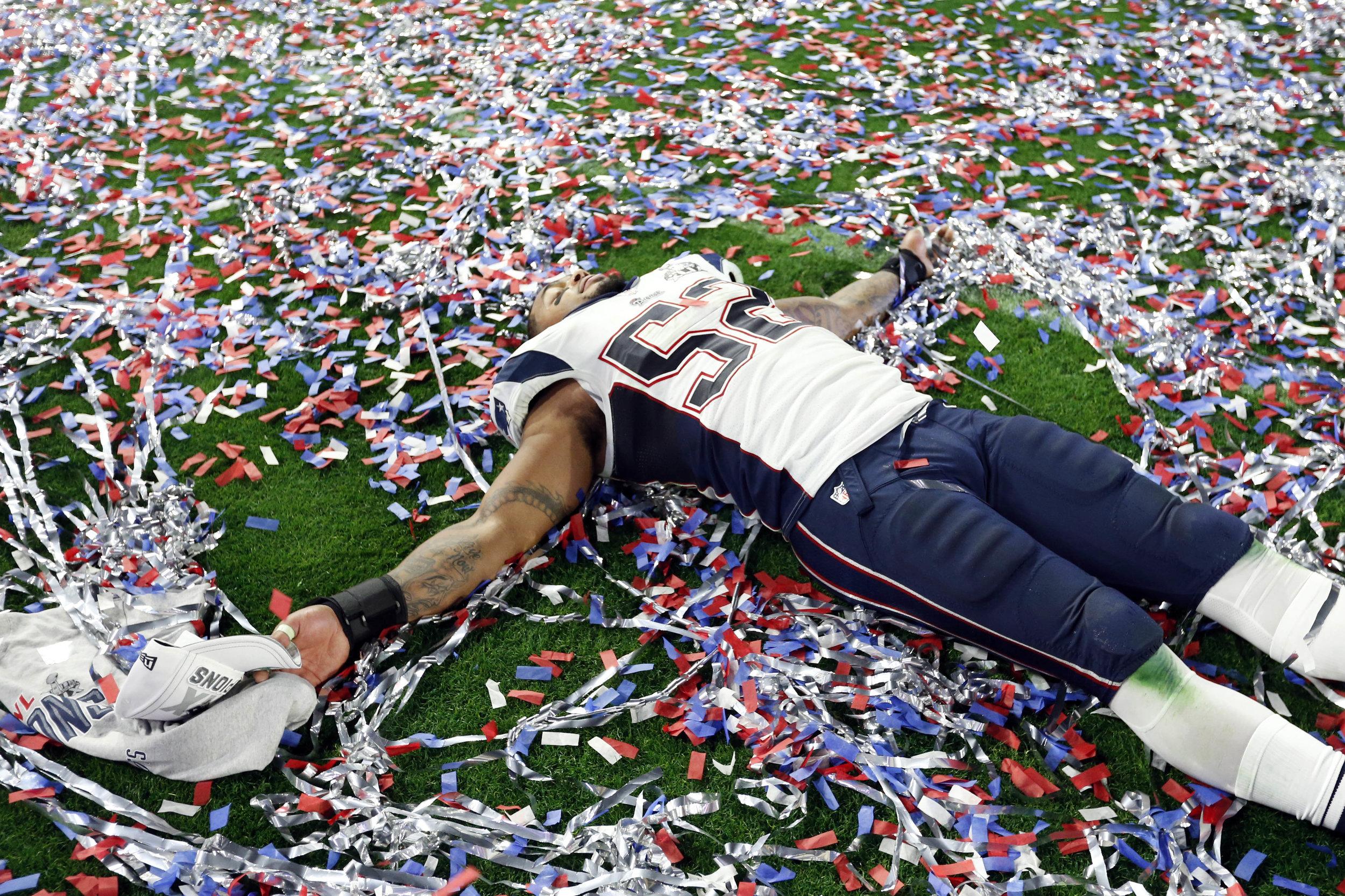 New England Patriots Celebrate Super Bowl Victory (Photo: AP)