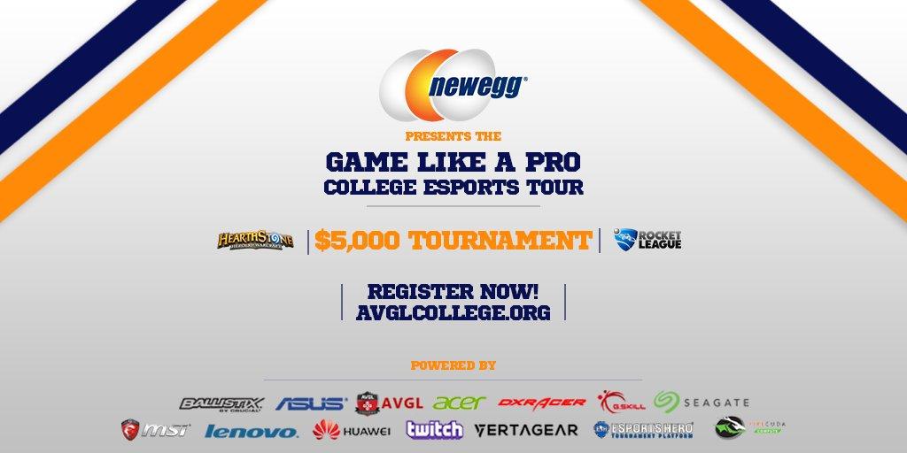 Newegg College eSports Sponsorship (Photo: Newegg)