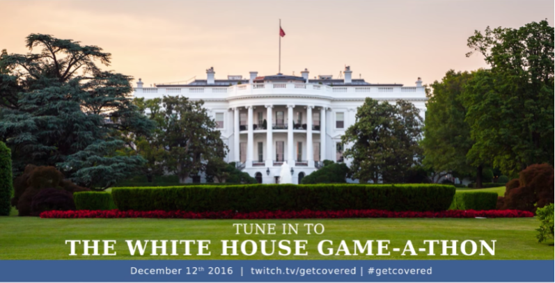 White House Game-A-Thon (Photo: Twitch)