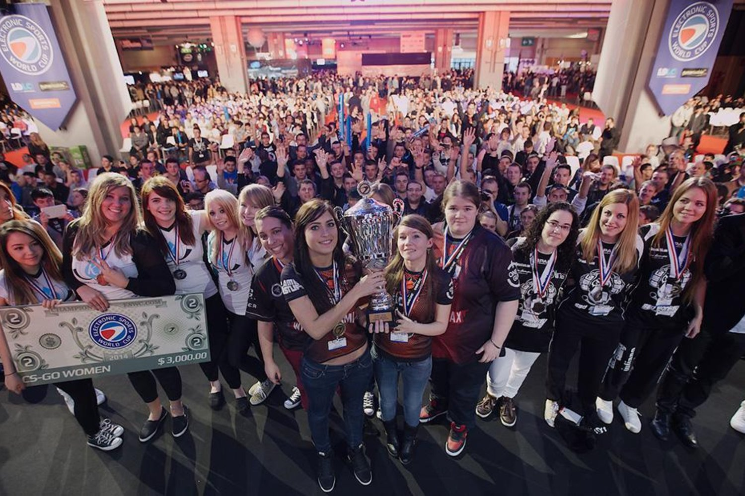 CS:GO Women Tournament At ESWC (Photo: ESWC)
