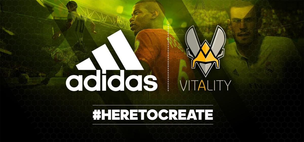Adidas Becomes Team Vitality's Official Clothing Sponsor (Photo: Team Vitality)