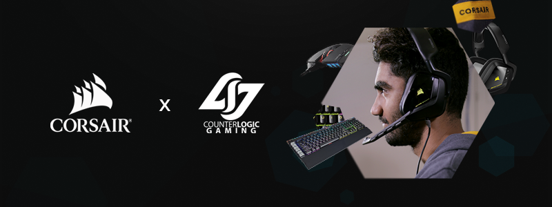 Corsair Partners With Counter Logic Gaming (Photo: Counter Logic Gaming)