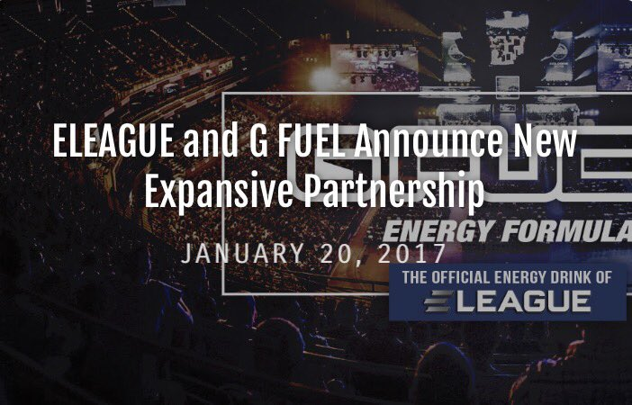 GFUEL Partners With ELEAGUE (Photo: GFUEL)