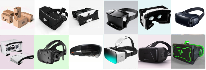 Various VR Devices (Photo: Google)