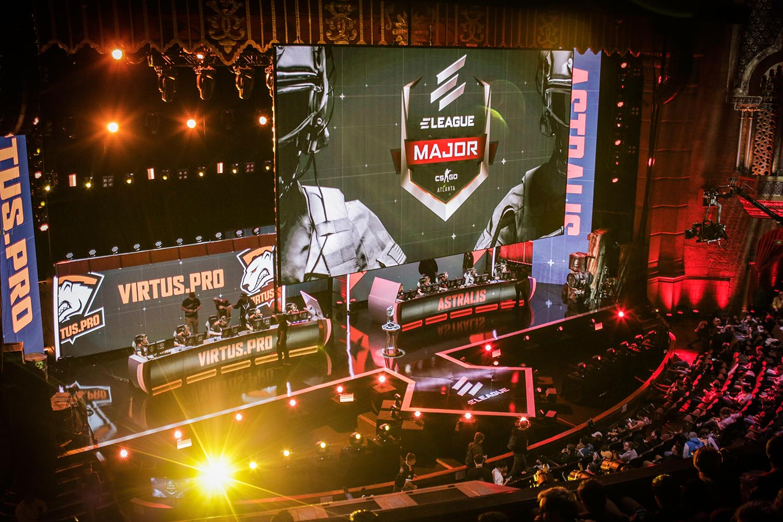 ELEAGUE Major Finals (Photo: Turner Sports)