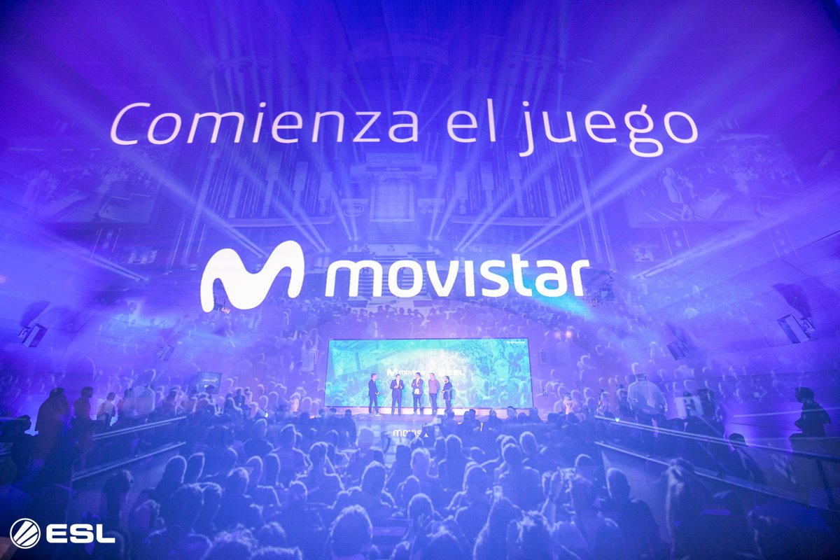 ESL Partners With Spanish Broadcaster Movistar (Photo: Movistar)