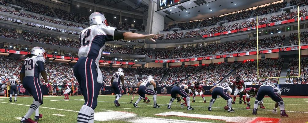 New England Patriots vs. Atlanta Falcons In Super Bowl LI (Photo: EA Sports)