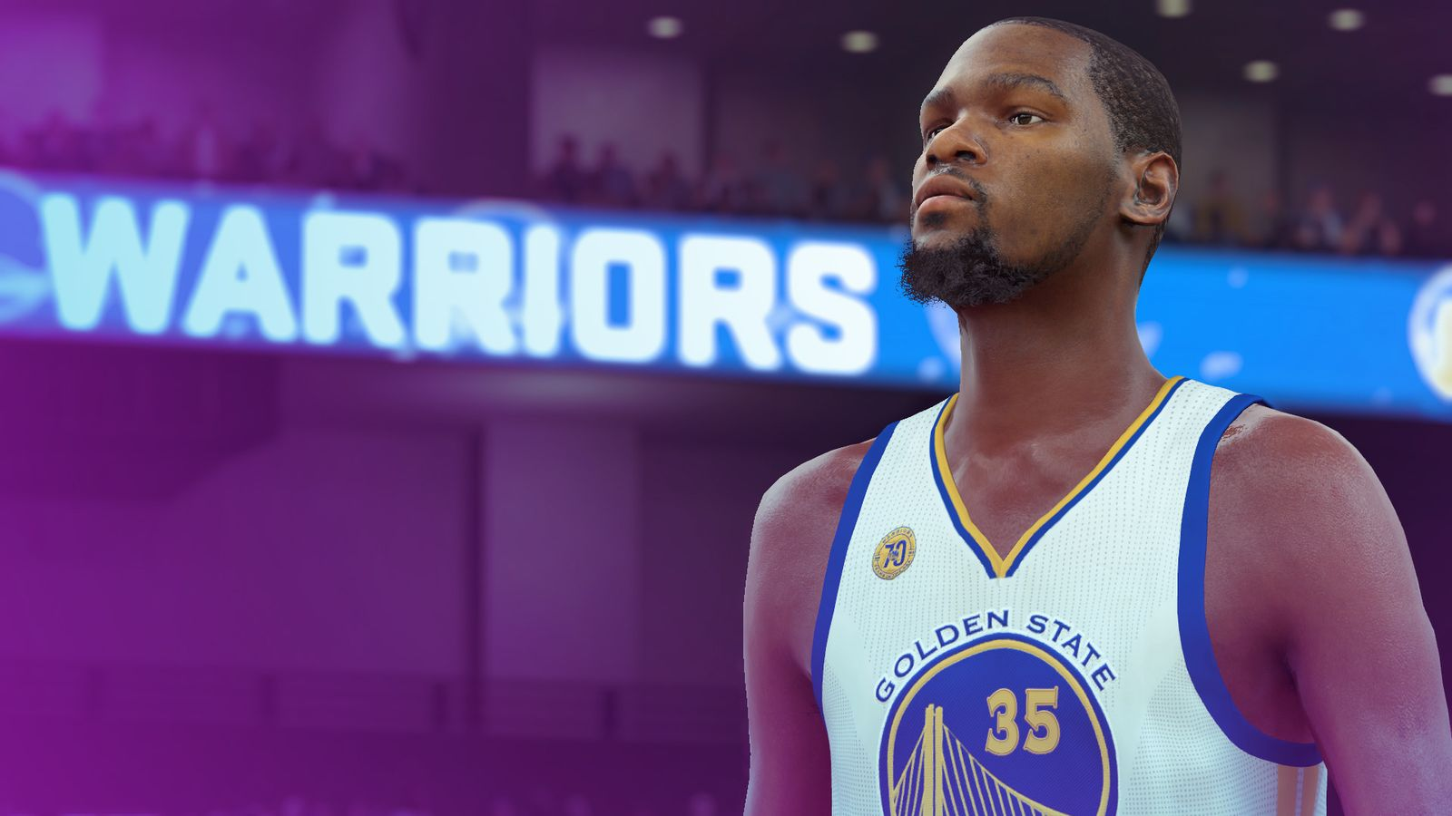 Kevin Durant in NBA2K17 (Photo: 2K)