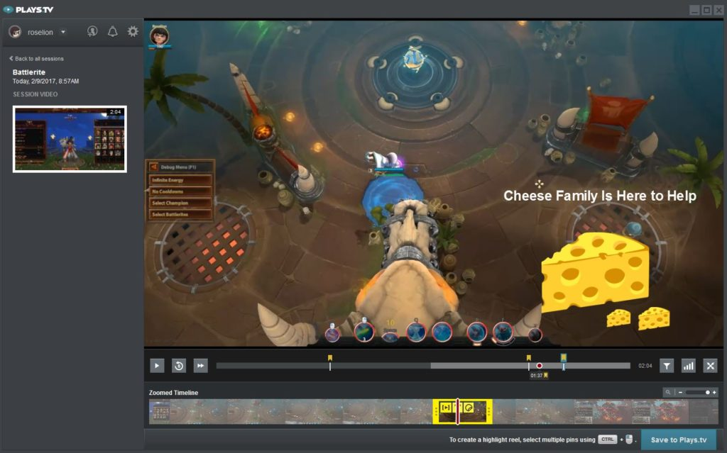 Plays.tv Game Video Highlights (Photo: Plays.tv)