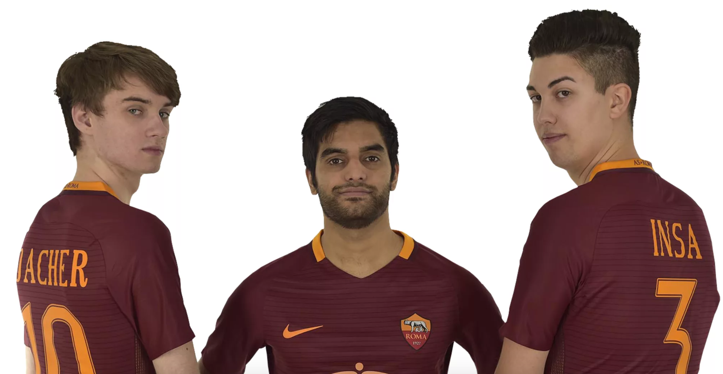 AS Roma's 1st 3 International FIFA Athlete's (Photo: AS Roma)