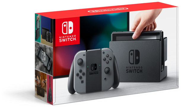 The Nintendo Switch (Photo: Nintendo)