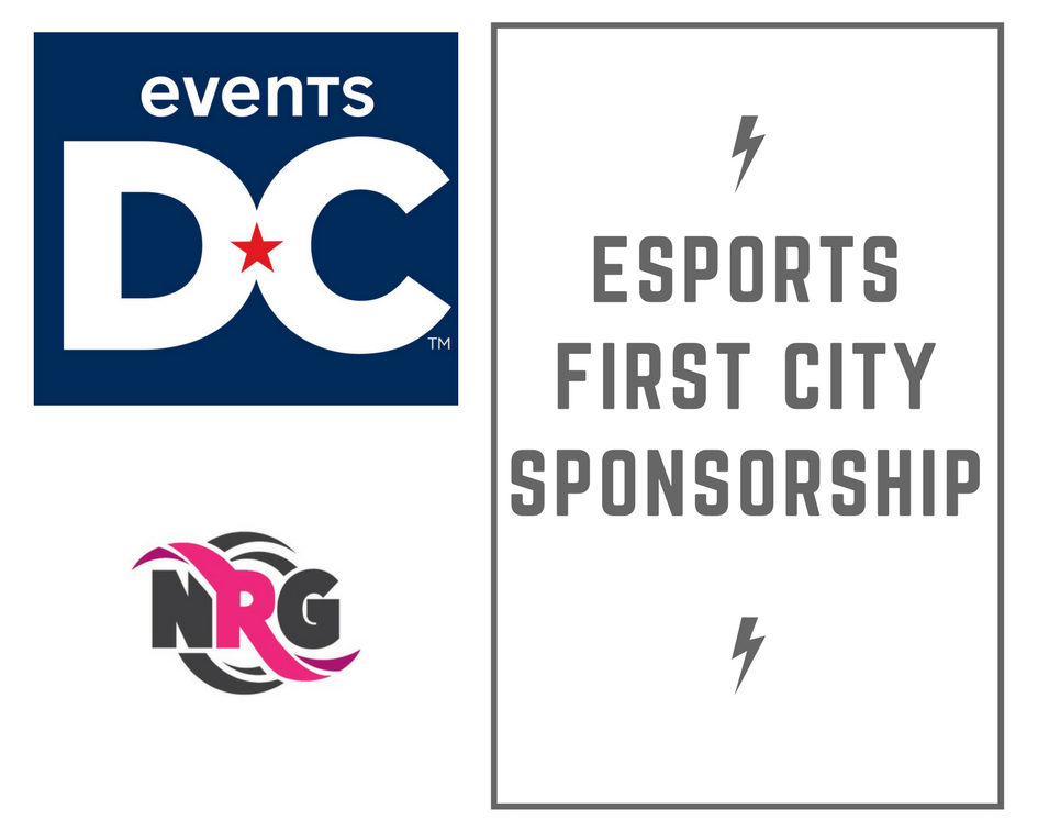 Washington DC's Convention and Sports Authority Sponsors NRG (Graphic: The Next Level)