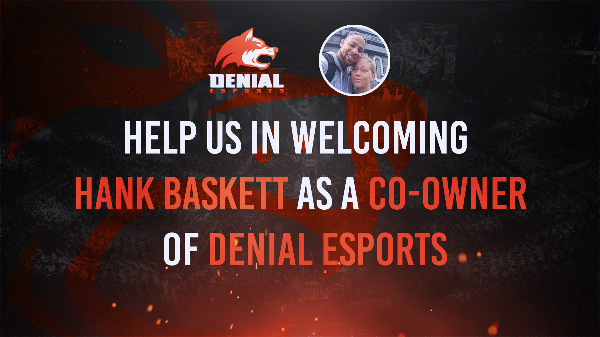 Ex-NFL Player Hank Baskett Becomes Co-Owner of Denial eSports (Photo: Denial eSports)