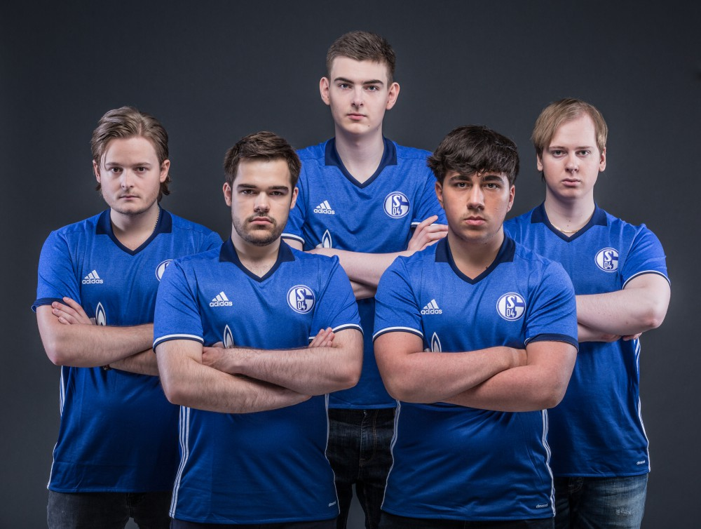 Germany Soccer Club Schalke 04's eSports Team (Photo: Schalke 04)